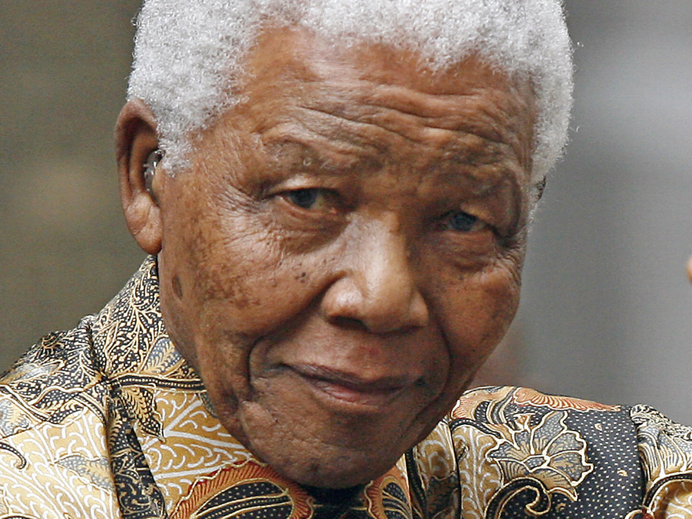 Nelson Mandela; a shining star of the galaxy of history's great people….